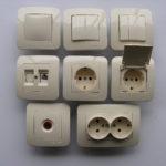 Ключове,контакти и димери Макел лилиум крем