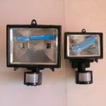 Прожектори със сензор за движение