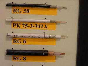 RG-6,RG8,RG58,РК-3,РК-5